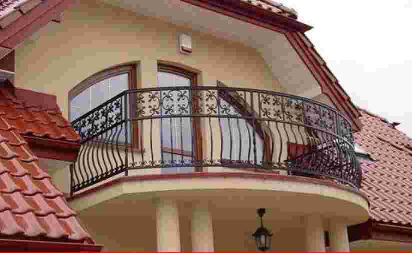 Кованый балкон бк12 - мастерская кузнецов.